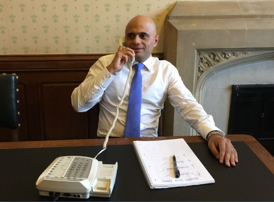 Image of Sajid Javid MP